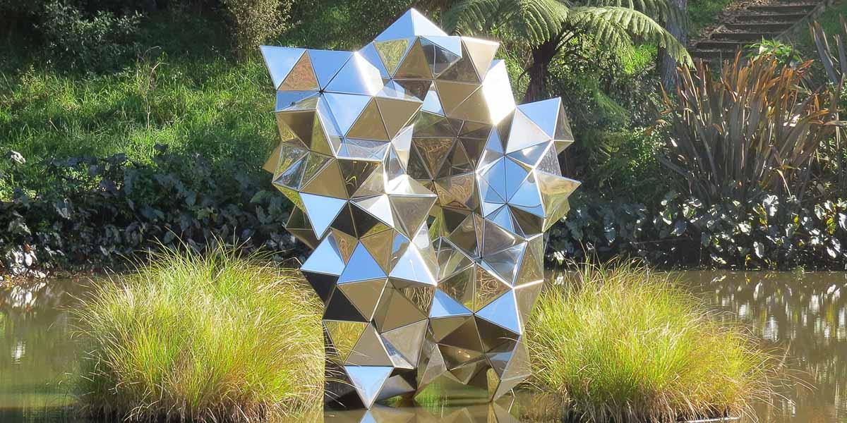Brick Bay sculpture trail - Matakana wine tour