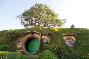 Bag end at Hobbiton movie set