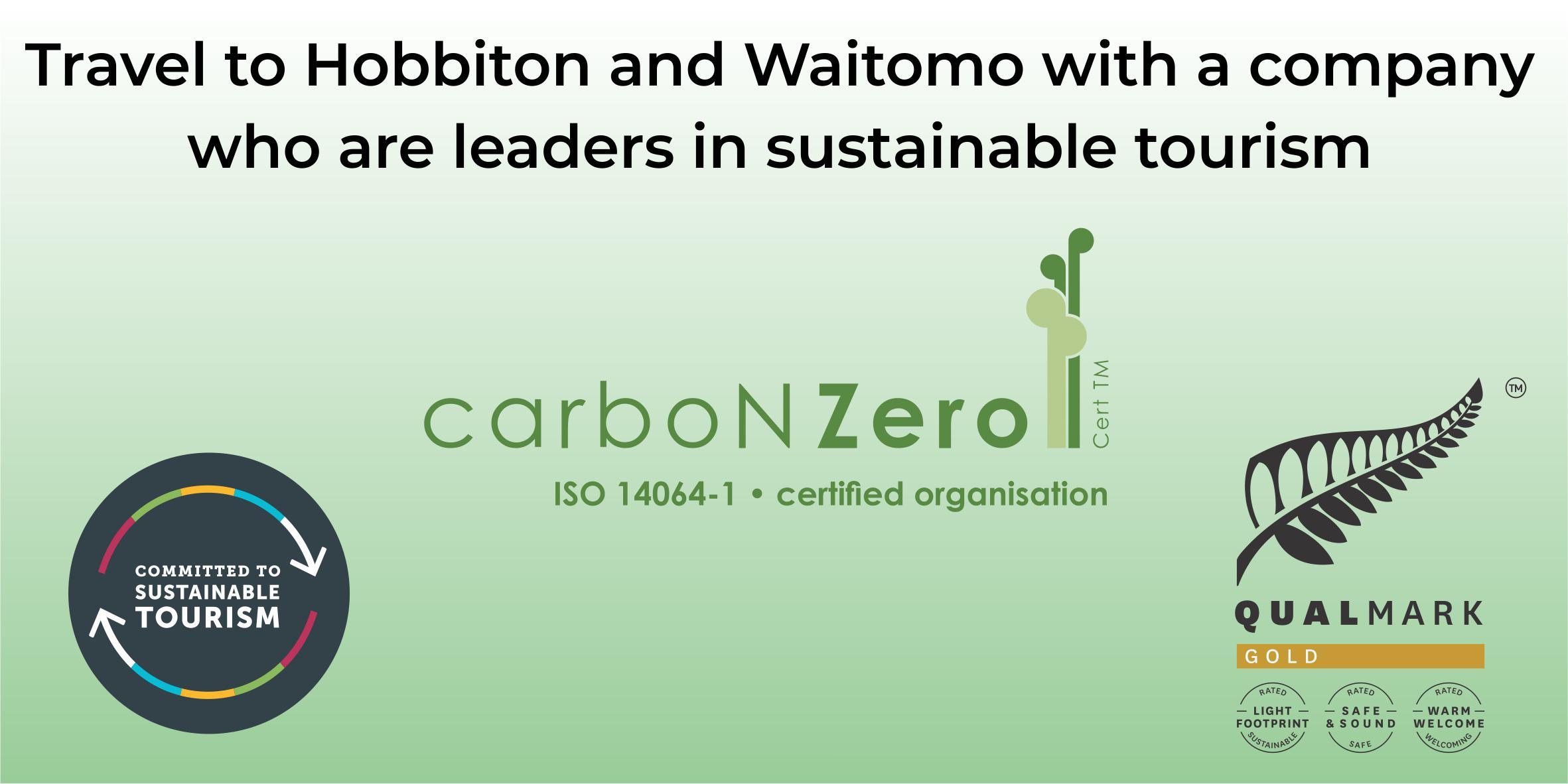 Hobbiton and Waitomo sustainable tourism company
